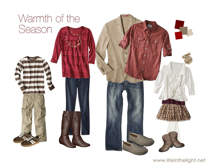 What to wear for family photos clothing ideas Fall family photo clothing ideas