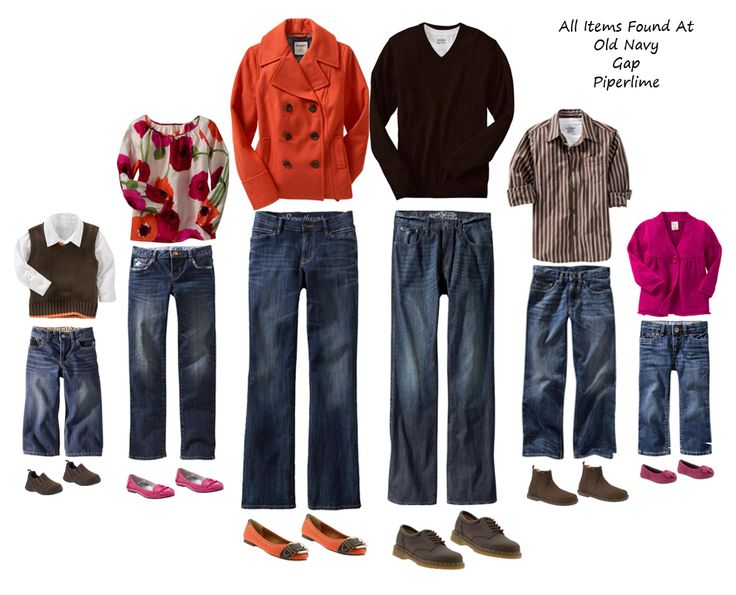 Fall Family Photo Ideas What To Wear What To Wear For Famil...