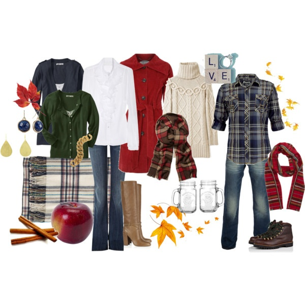 Fall family photos clothing guide Fall family photo clothing ideas