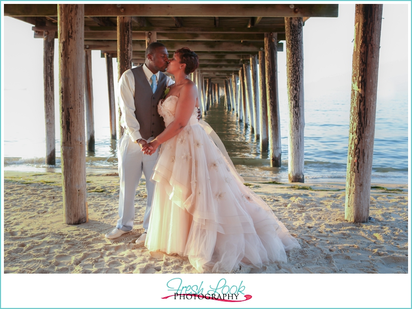 Renewal Wedding Dresses For The Beach : Virginia beach vow renewal erica ron judithsfreshlook