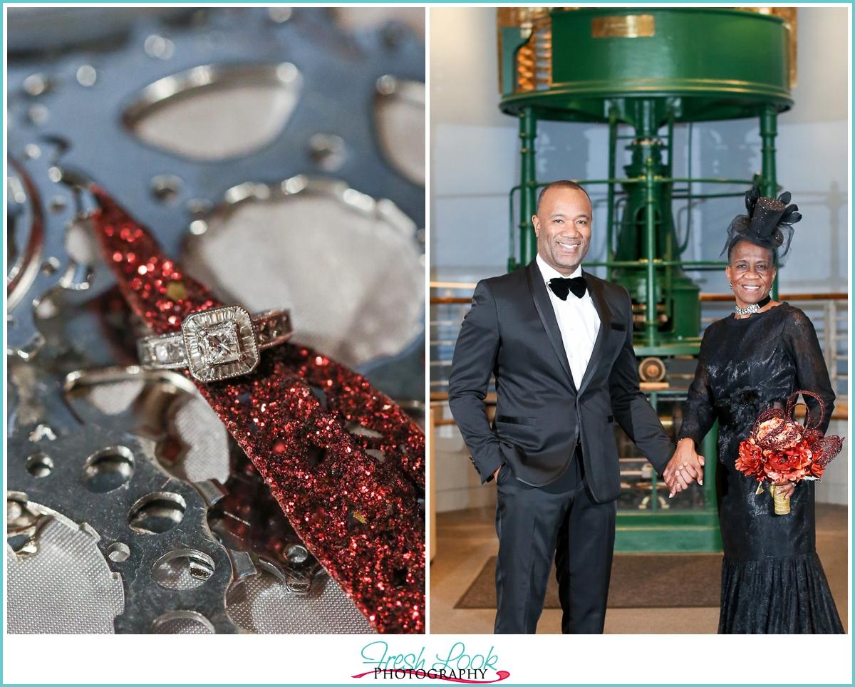 Steampunk Inspired Wedding | Mariners Museum - JudithsFreshLook.com