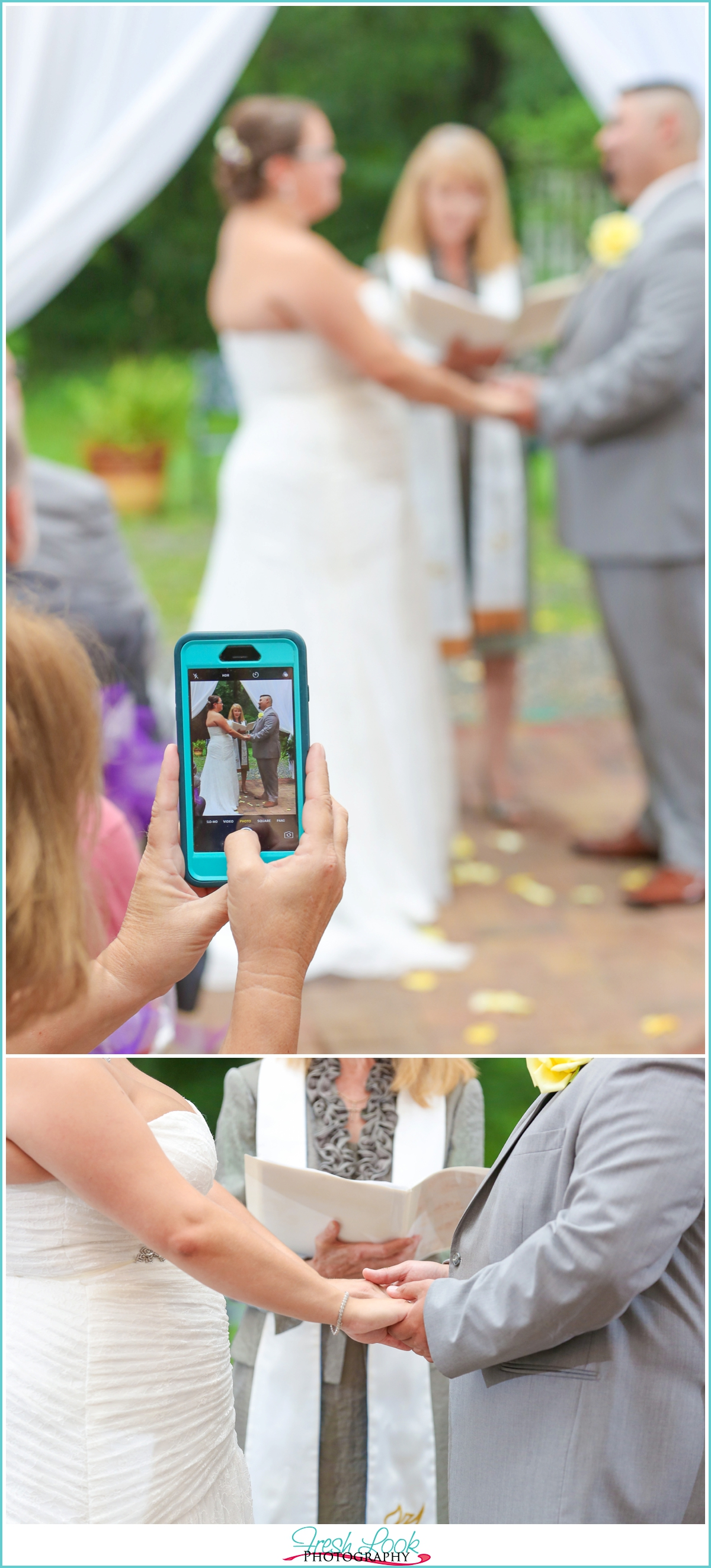 special moments during the wedding