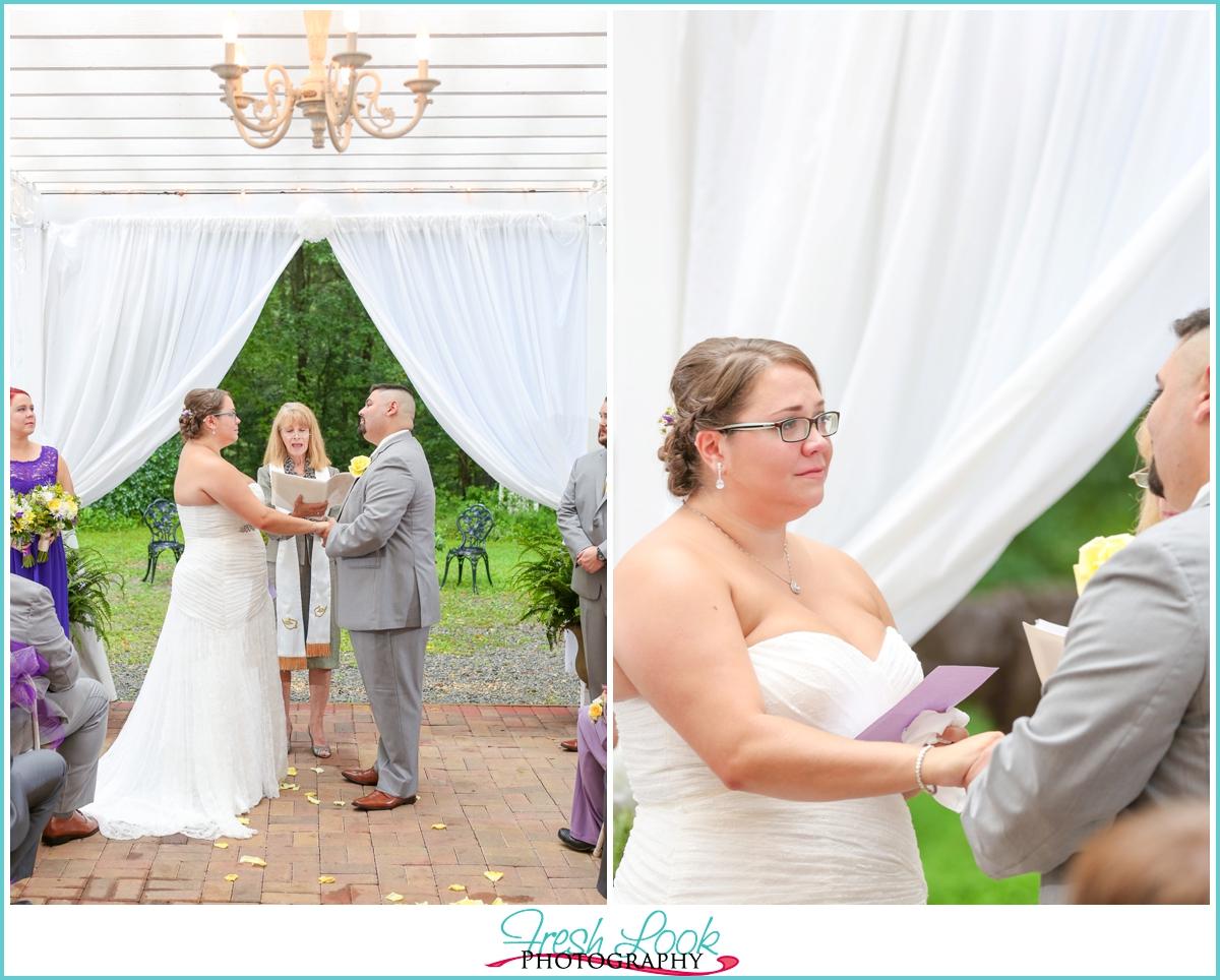 Jasmine plantation wedding cermeony